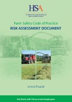 Farm Safety Code of Practice Risk Assessment Document front page preview