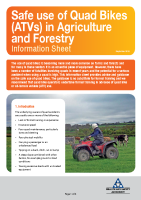 quad bike info sheet front page preview