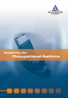 Guidelines on Occupational Asthma front page preview