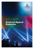 Artificial Optical Radiation front page preview