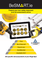BeSMART.ie Construction Information Flyer front page preview