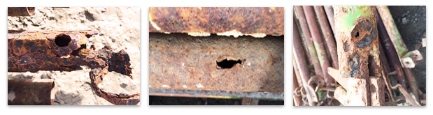Corroded Scaffold